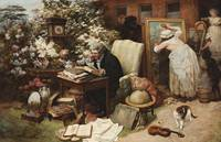 WILLIAM STRUTT, SPRING CLEANING, 1892