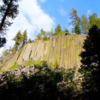 Devils Postpile National Monument Art Prints & Posters by Sylvia Claiborne