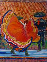 Dancers at Spanish Village Art Center