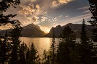Golden Jenny Lake View
