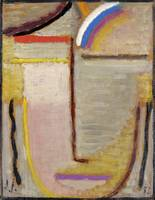 Abstract Head by Alexei Jawlensky