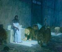 Daniel in the Lions' Den by Henry Ossawa Tanner