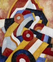 Abstraction by Marsden Hartley