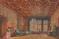 An Interior in Rosenberg Castle by Rudolf von Alt,