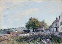 Alfred Sisley - Saint Mammes-Morning
