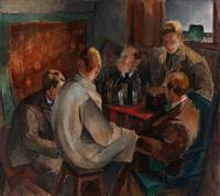 Alvar Cawen - Members of The November Group - 1921