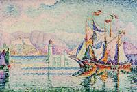Antibes - Morning, Paul Signac