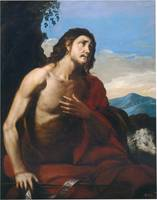 ANONYMOUS Saint John the Baptist XVII century. 2