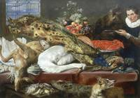 Larder with a Servant by Frans Snyders