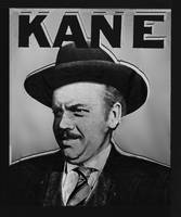 Citizen Kane Orson Welles Campaign Poster B And W