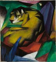 Lioness by Franz Marc