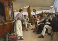 On the yacht Namouna,  Venice by Julius LeBlanc St