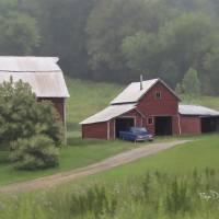 Wisconsin Hobby Farm by Roger Dullinger