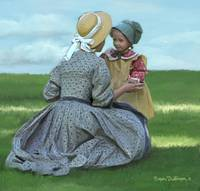 Pioneer Mother and Daughter