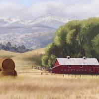Montana Ranch by Roger Dullinger
