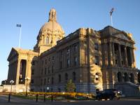 Alberta Legislature Side View