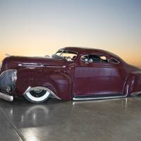 1941 Lincoln Zephyr Custom Coupe 2 Art Prints & Posters by Dave Koontz