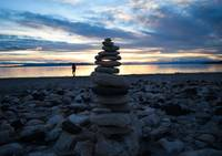 Cairn on the Beach