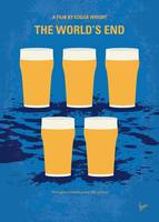 No843 My The Worlds End minimal movie poster