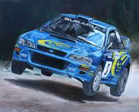 Richard Burns Subaru
