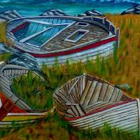 Ashore for Good Art Prints & Posters by Anthony Dunphy
