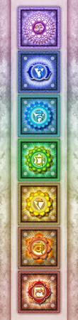 The Seven Chakras - Series 1 Artwork 3