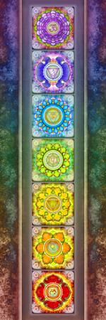 The Seven Chakras - Series 3 Artwork 2.1