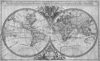 Black and White World Map (1691)