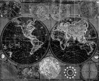 Black and White World Map (1787) Inverse  Edit
