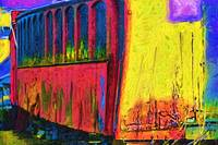 The Red Railroad Car In Fauvism