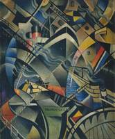 Christopher Richard Wynne Nevinson The Arrival c.1
