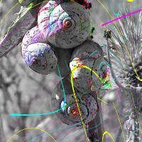 les escargots Art Prints & Posters by Volker Baecker