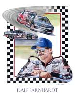 Dale Earnhardt painting