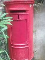 My little red post box