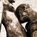 """The Kiss #7 - Homage to Auguste Rodin"" by ina-mar"