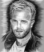 Gary Barlow In Black And White