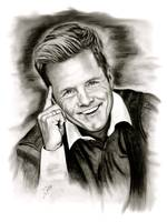 Dieter Bohlen In Black And White