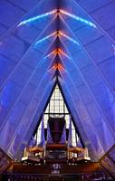 Air Force Chapel Interior Study 6