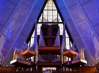 Air Force Chapel Interior Study 11