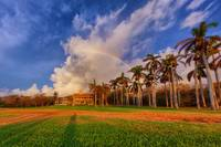 Rainbow over the Deering Estate II