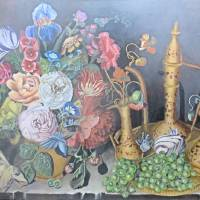 Floral Still Life Painting Dutch Masters Inspirati Art Prints & Posters by Velvet Tetrault