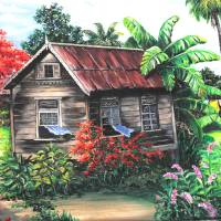 home sweet home 2 Art Prints & Posters by KARIN DAWN BEST
