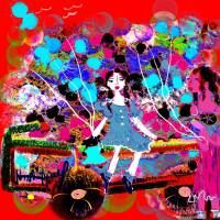 I love A Parade3 Art Prints & Posters by Nina Spencer