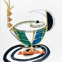 Essential line tea prt Art Prints & Posters by Alma Lee