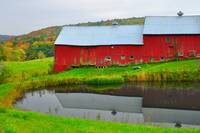 Red Barn on Jenne Farm