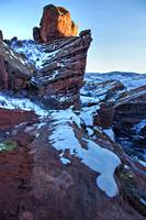 Red Rocks Winter Evening