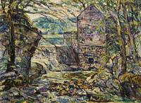 Ernest Lawson 1873 - 1939 THE MILL
