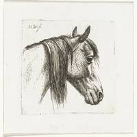 Horse Head right, Abraham Hendrik Winter 1815 - 18