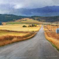 best crossroads shot idaho side Art Prints & Posters by r christopher vest