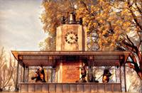 Historic Delacorte Musical Clock at the Central Pa